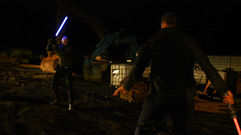 Jedi and Sith face-off!